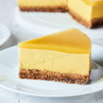 No Bake Vegan Mango Cheesecake