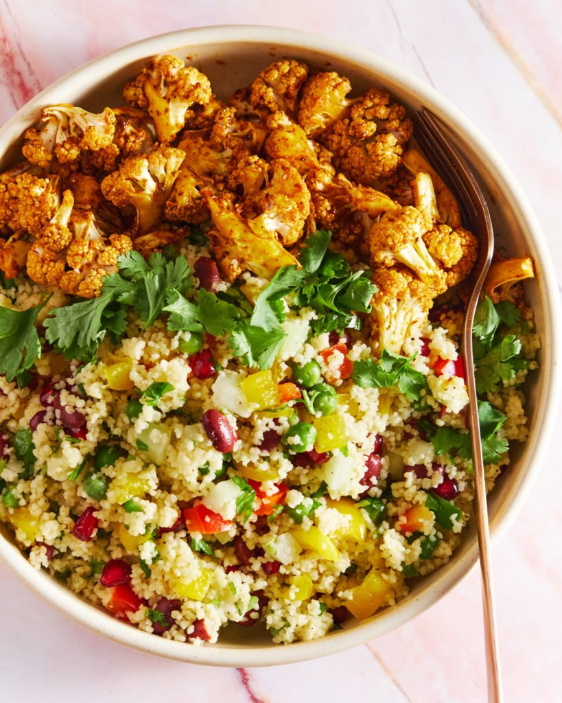 Vegan Couscous Salad