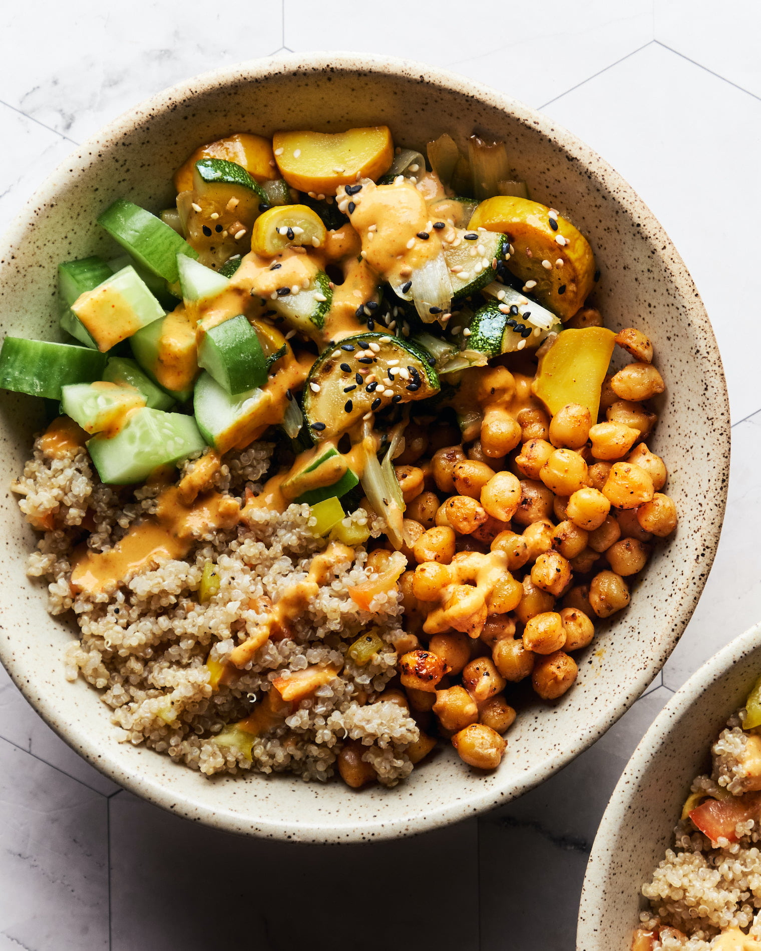 Quinoa Chickpea Buddha Bowl