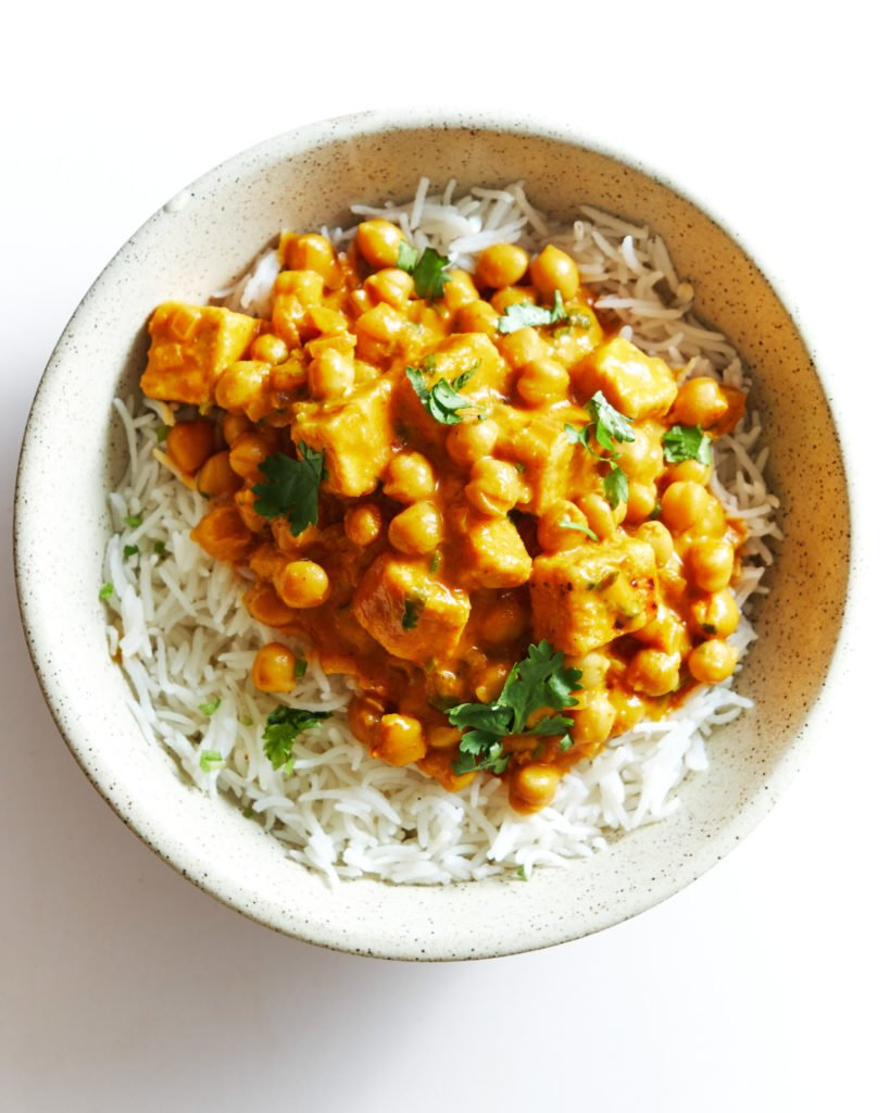 Chickpea Tofu Curry