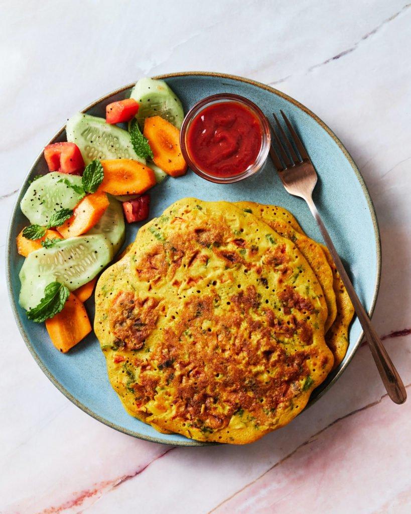 Savory Besan Pancake