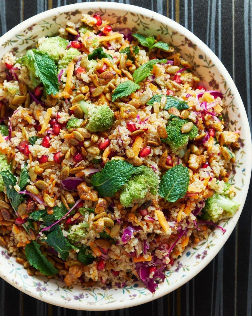 Minty Quinoa Salad